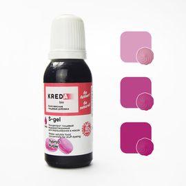 Краситель пищевой водорастворимый S-gel пурпур 20 мл