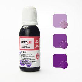 Краситель пищевой водорастворимый S-gel Фиолетовый электро 20 мл