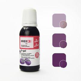 Краситель пищевой водорастворимый S-gel фиолетовый 20 мл