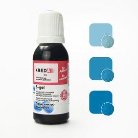 Краситель пищевой водорастворимый S-gel синий электро 20 мл