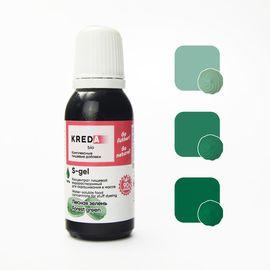 Краситель пищевой водорастворимый S-gel Лесная зелень 20 мл