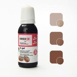 Краситель пищевой водорастворимый S-gel коричневый 20 мл.