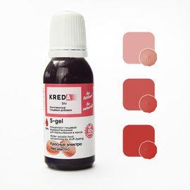 Краситель пищевой водорастворимый S-gel Красный электро 20 мл