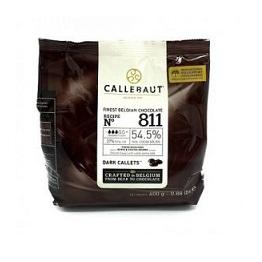 Бельгийский темный шоколад 54.5% Barry Callebaut 0.4 кг