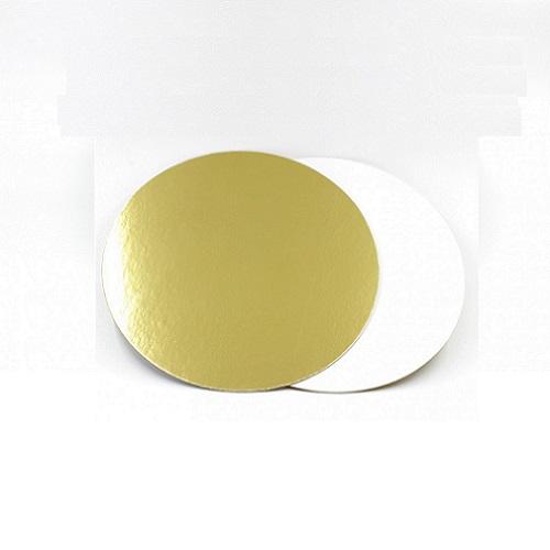 Подложка золото/жемчуг усиленная 3,2 мм d 23 см