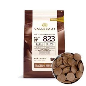 Бельгийский молочный шоколад 33,6% Barry Callebaut 2.5 кг