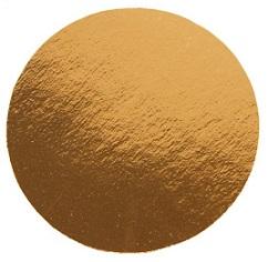 Подложка золото 0,8 мм d 10 см