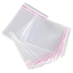 Набор пакетов 6х6 см 100 шт с клеевым слоем
