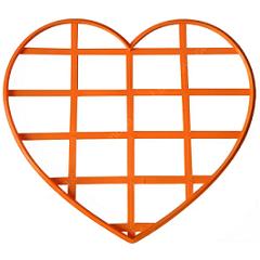 Сердце трафарет для торта 25 см