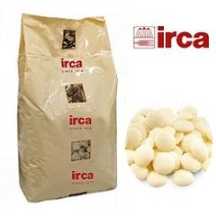 Шоколад белый 31 % какао Irca 5 кг