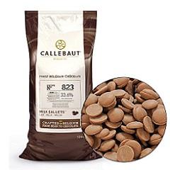 Бельгийский молочный шоколад 33.6% Barry Callebaut 10 кг