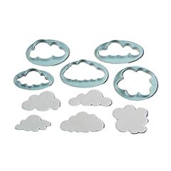 Набор вырубок для печенья Облака 5 шт