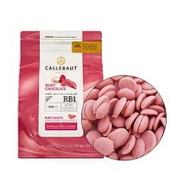 Рубиновый шоколад Ruby Callebaut 2.5 кг