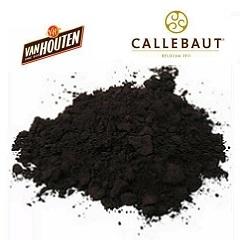 Черный какао-порошок Van Houten Intense Deep Black 200 гр